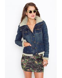Nasty Gal | Blue Dakota Denim Jacket | Lyst