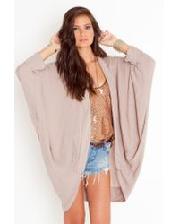 Nasty Gal | Pink Dreamers Cardi | Lyst