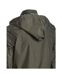 Prada - Green Sport Military Nylon Windbreaker Jacket for Men - Lyst