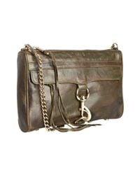 Rebecca Minkoff   Green Camo Printed Leather Mac Chain Strap Bag   Lyst