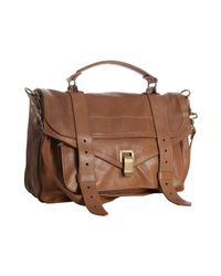 Proenza Schouler - Natural Sand Leather Ps1 Medium Convertible Satchel - Lyst