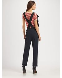 Sonia by Sonia Rykiel | Red Cherry Bomb Striped T-shirt | Lyst
