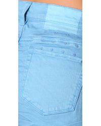 Ksubi - Blue Cee Cee Roll Shorty Shorts - Lyst