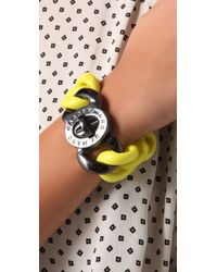 Marc By Marc Jacobs - Yellow Candy Turnlock Exploded Katie Bracelet - Lyst