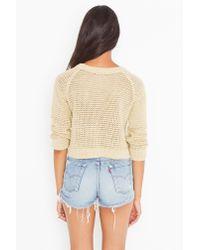 Nasty Gal | Blue Vintage Flannel Cutoff Shorts | Lyst