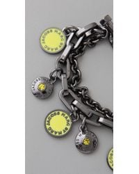 Marc By Marc Jacobs - Metallic Classic Marc Charm Bracelet - Lyst