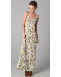 Sass & Bide | Natural The Companion Leopard Maxi Dress | Lyst