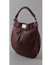 Marc By Marc Jacobs - Red Classic Q Hillier Hobo - Lyst