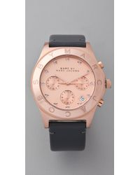 Marc By Marc Jacobs Gray Blade Chrono Watch