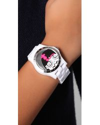 Marc By Marc Jacobs White Miss Marc Henry Watch