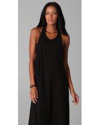 Mikoh Swimwear | Black French Riviera Long Dress | Lyst