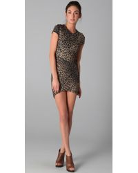 Torn By Ronny Kobo   Multicolor Kaitlyn Cheetah Dress   Lyst