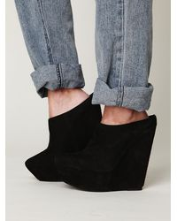 Free People | Black Julianne Mule | Lyst