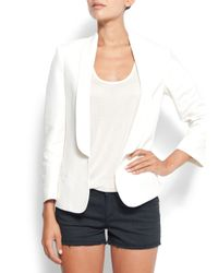 Mango | White Smoking Suit Jacket | Lyst