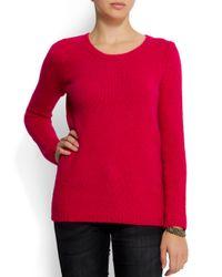 Mango - Pink Knit Sweater - Lyst
