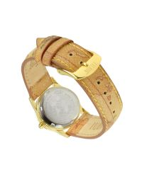 Alviero Martini 1A Classe - Natural 1a Prima Classe - Ladies Geo Dial and Strap Gold Plated Watch - Lyst