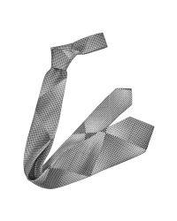 Emporio Armani | Metallic Gradient Geometric Pattern Silk Tie for Men | Lyst