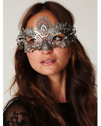 Free People | Metallic Voxhall Italian Mask | Lyst