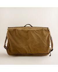 J.Crew | Natural Abingdon Garment Bag for Men | Lyst