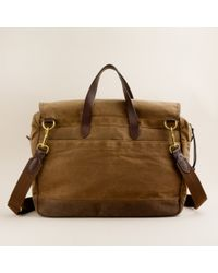 J.Crew | Natural Abingdon Laptop Bag for Men | Lyst