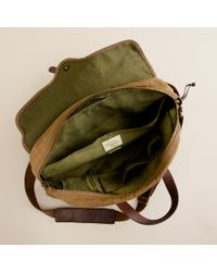 J.Crew Natural Abingdon Laptop Bag for men