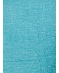 Mango - Blue Touch - Bamboo Foulard - Lyst