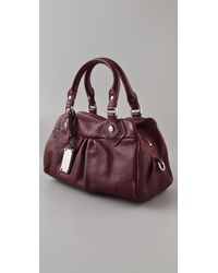 Marc By Marc Jacobs Purple Classic Q Baby Groovee Satchel