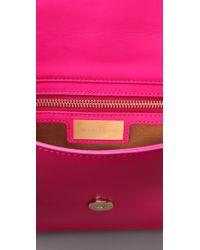 Michael Kors Pink Gosford Clutch