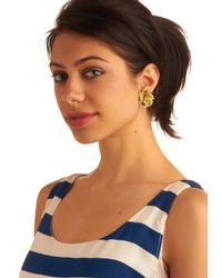 ModCloth | Multicolor Sunny Flower Earrings | Lyst