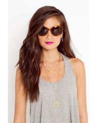 Nasty Gal | Metallic Robyn Shades | Lyst