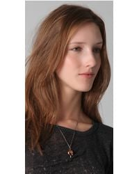 Pamela Love - Metallic Arrowhead Pendant Necklace - Lyst