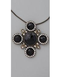 Rachel Leigh - Black Society Pendant Necklace - Lyst