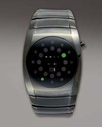 01 The One Watches - Gray Lightmare Binary Watch for Men - Lyst