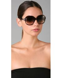 Chloé | Black Ammi Sunglasses | Lyst