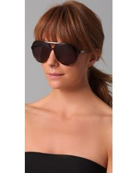 Chloé | Purple Adonis Aviator Sunglasses | Lyst