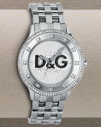 Dolce & Gabbana - Metallic Prime Time Watch for Men - Lyst