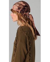 Eugenia Kim - Brown Gigi Headscarf - Lyst