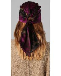 Eugenia Kim | Purple Gigi Headscarf | Lyst