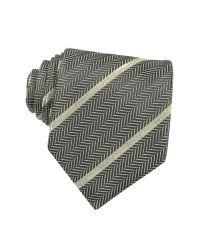 Gianfranco Ferré Black Signature Striped Silk Tie for men