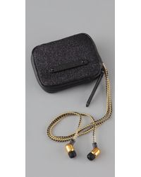 Juicy Couture | Black Earbuds in Case | Lyst