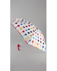 Juicy Couture | Multicolor Watercolor Dot Umbrella | Lyst