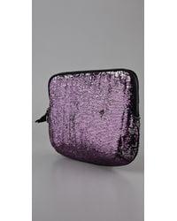 Juicy Couture - Purple Sequin Laptop Sleeve - Lyst