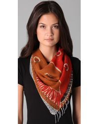 Madewell | Red Bees Knees Scarf | Lyst