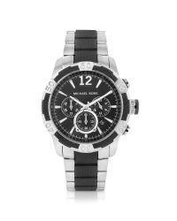 Michael Kors - Metallic Oversized Silicone Chronograph Watch for Men - Lyst