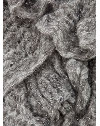 Missoni | Gray Ruffle Scarf | Lyst