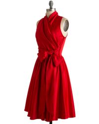 ModCloth - Awards Show Stunner Dress in Red - Lyst