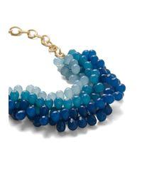ModCloth   Blue Tidal Crave Necklace   Lyst