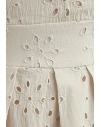 ModCloth | White One Scoop Dress in Vanilla | Lyst