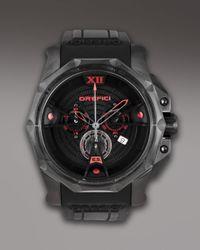 Orefici Watches - Black Edizione Speciale Chronograph Watch for Men - Lyst