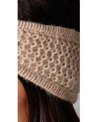 Rag & Bone - Natural Scarborough Headband - Lyst